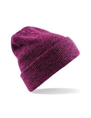 bonnet sans revers personnalisé avec un logo brodé gris