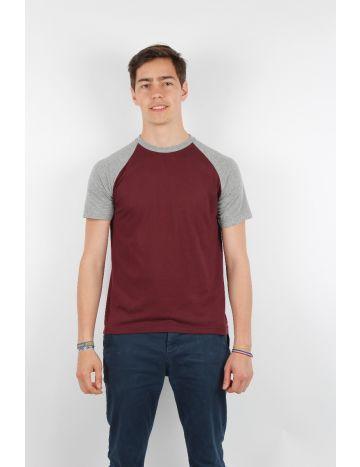 T shirt bicolore personnalisé
