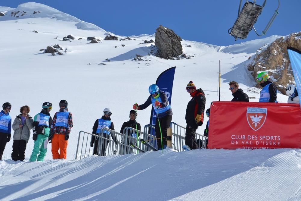 départ de ski à l'altigliss