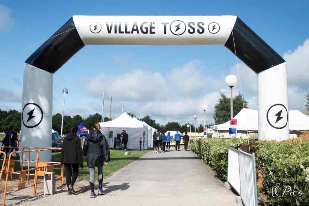 organisation du tournoi du TOSS avec le village
