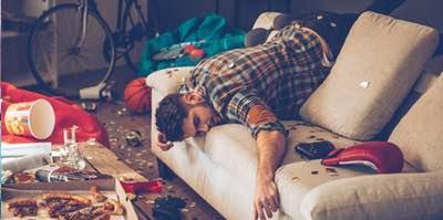 etudiant fatigue apres campagne BDE