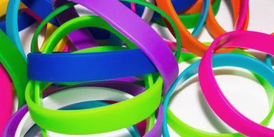 bracelet personnalisé en silicone